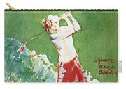 Golfing: Magazine Cover Carry-all Pouch