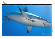 Gray Reef Shark With Remora, Papua New Carry-all Pouch