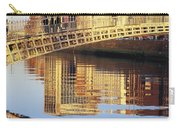 Hapenny Bridge, River Liffey, Dublin Carry-all Pouch