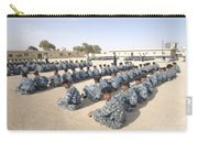 Iraqi Police Cadets Being Trained Carry-all Pouch by Andrew Chittock