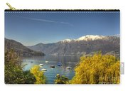 Lake With Snow-capped Mountain Carry-all Pouch