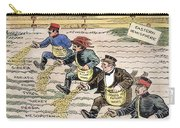 League Of Nations Cartoon Carry-all Pouch