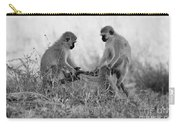 3 Monkeys Hey Its Not A Wig Carry-all Pouch