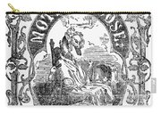 Mother Goose, 1833 Carry-all Pouch