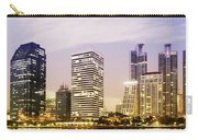 Night Scenes Of City Carry-all Pouch by Setsiri Silapasuwanchai