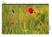 Poppies Carry-all Pouch by Guido Montanes Castillo