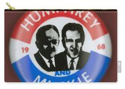 Presidential Campaign, 1968 Carry-all Pouch by Granger