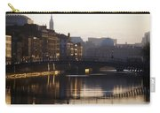 River Liffey, Dublin, Co Dublin, Ireland Carry-all Pouch