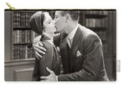 Silent Film Still: Kissing Carry-all Pouch