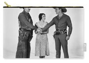 Silent Film Still: Western Carry-all Pouch