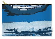 Snowy  Landscape Carry-all Pouch