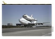 Space Shuttle Endeavour Mounted Carry-all Pouch
