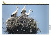 3 Storks In The Nest. Lithuania Carry-all Pouch