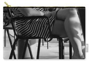 Stripped Dress Carry-all Pouch