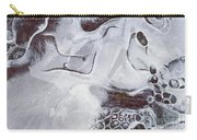 Texture Of Ice Carry-all Pouch