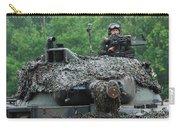 The Leopard 1a5 Main Battle Tank Carry-all Pouch by Luc De Jaeger