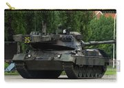 The Leopard 1a5 Mbt Of The Belgian Army Carry-all Pouch by Luc De Jaeger