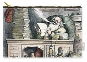 Thomas Nast: Santa Claus Carry-all Pouch by Granger