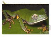 Tiger Stripe Monkey Frog Carry-all Pouch