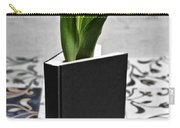Tulip In A Book Carry-all Pouch