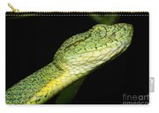Two Striped Forest Pit Viper Carry-all Pouch