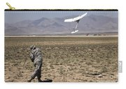 U.s. Army Soldier Launches An Rq-11 Carry-all Pouch