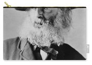 Walt Whitman, American Poet Carry-all Pouch