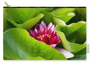 Waterlily Carry-all Pouch