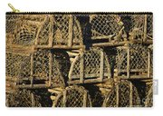 Wooden Lobster Traps Carry-all Pouch