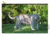 35- White Bengal Tiger Carry-all Pouch