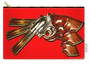 357 Magnum - Painterly - Red Carry-all Pouch