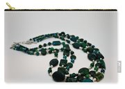 3609 Australian Jasper Triple Strand Necklace Carry-all Pouch