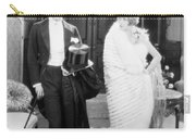 Silent Still: Man & Woman Carry-all Pouch