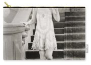 Silent Film Still: Woman Carry-all Pouch