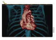 3d Ct Reconstruction Of Heart Carry-all Pouch