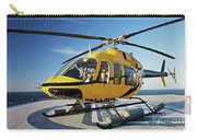 A Bell 407 Utility Helicopter Carry-all Pouch