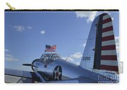 A Bt-13 Valiant Trainer Aircraft Carry-all Pouch