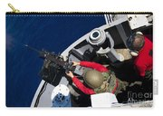 A Sailor Fires A .50-caliber Machine Carry-all Pouch