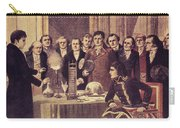 Alessandro Volta, Italian Physicist Carry-all Pouch by Science Source