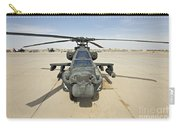 An Ah-64d Apache Helicopter At Cob Carry-all Pouch