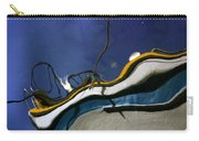 Boat Reflections At Sea Carry-all Pouch
