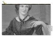 Charlotte Bronte, English Author Carry-all Pouch by Photo Researchers