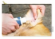 Dog Grooming Carry-all Pouch by Photo Researchers, Inc.