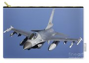 Dutch F-16am During A Combat Air Patrol Carry-all Pouch