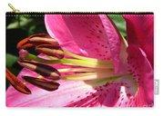 Dwarf Oriental Lily Named Farolito Carry-all Pouch