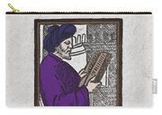 Euclid, Ancient Greek Mathematician Carry-all Pouch