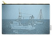 Fishing Boats Art Carry-all Pouch