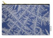 Frost On A Window Carry-all Pouch
