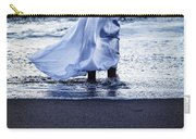 Girl At The Sea Carry-all Pouch
