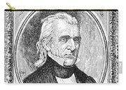 James K. Polk (1795-1849) Carry-all Pouch